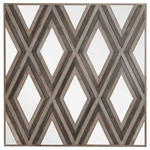 Tahira Geometric Square Wall Mirror