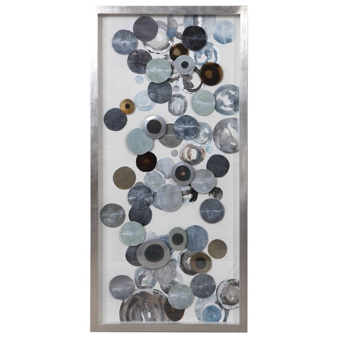 Alternative Wall Decor Kella Modern Shadow Box by Uttermost at Mueller Furniture