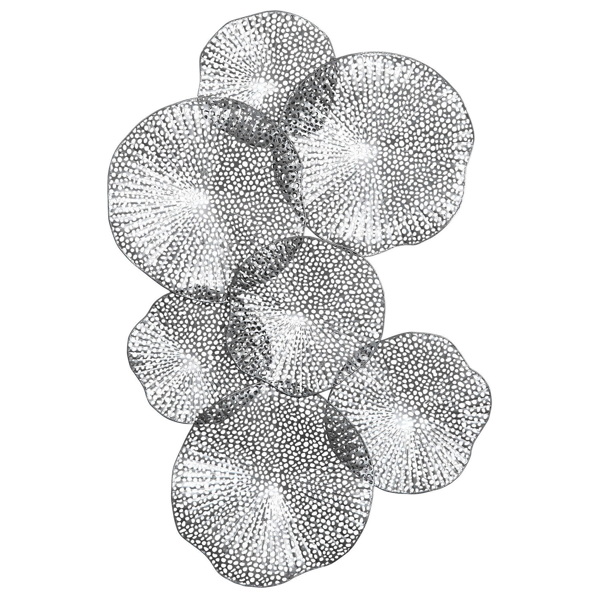 Alternative Wall Decor Ripley Pewter Metal Wall Art by Uttermost at Mueller Furniture