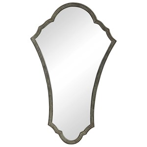 Maeve Arched Bronze Mirror