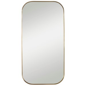 Taft Plated Brass Mirror