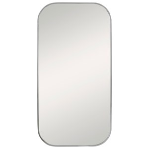 Taft Polished Nickel Mirror