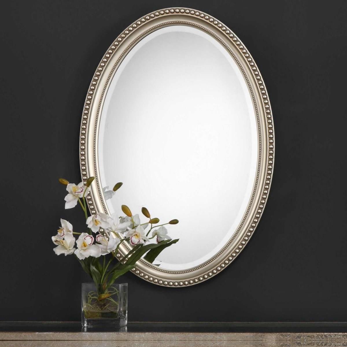 Mirrors - Oval CHARLOTTE MIRROR by Unique at Walker's Furniture