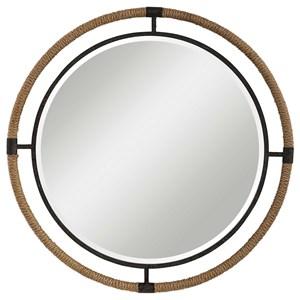 Melville Coastal Round Mirror