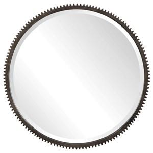 Werner Round Gear Mirror