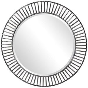 Schwartz Metal Round Mirror