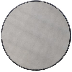 Argand Industrial Round Mirror