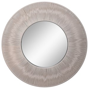 Sailor's Knot Round Mirror