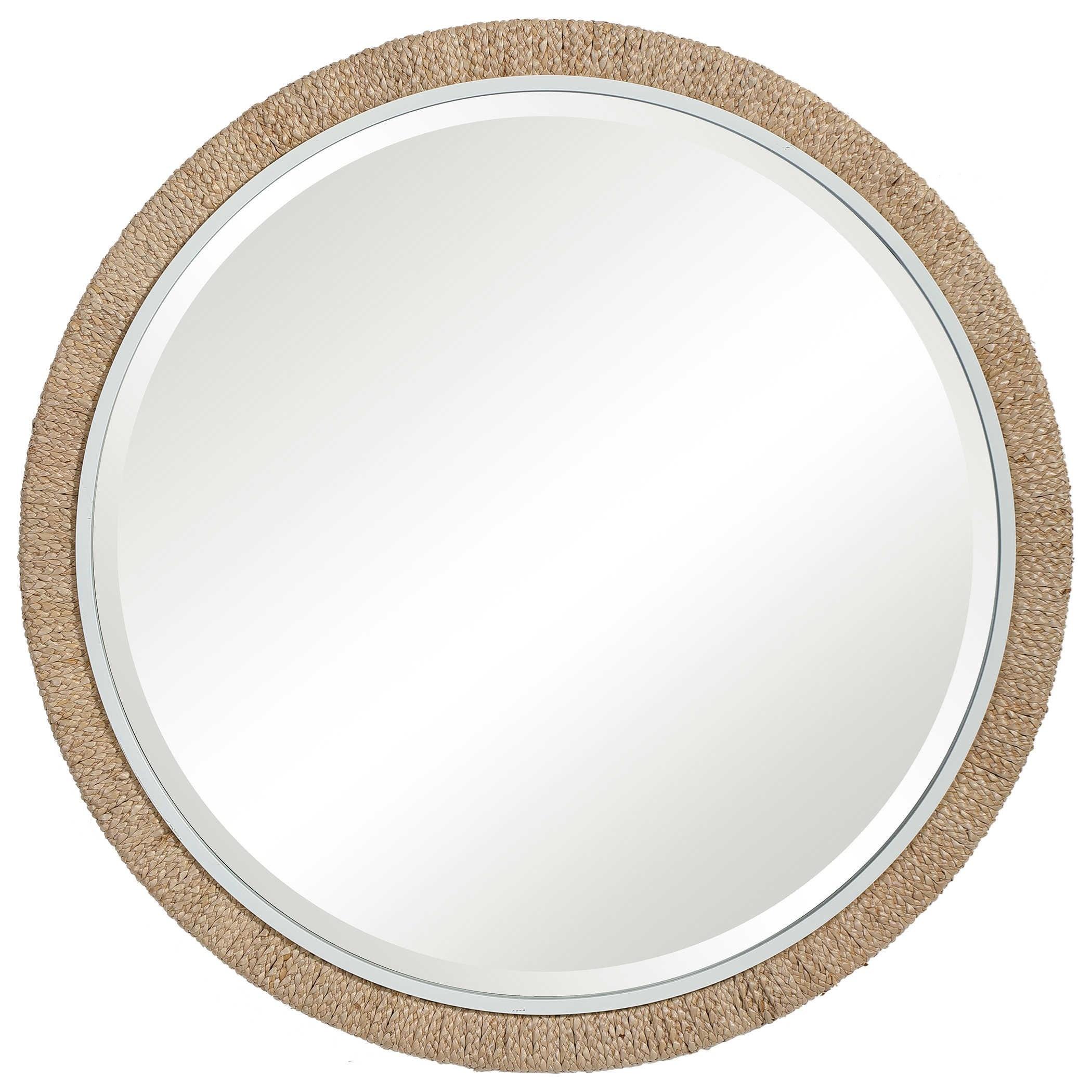 Mirrors - Round Carbet Round Mirror by Uttermost at Suburban Furniture