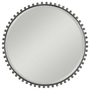 Taza Round Iron Mirror