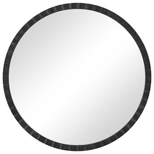 Dandridge Round Industrial Mirror