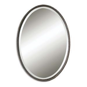 Uttermost Mirrors Sherise Bronze Oval Mirror