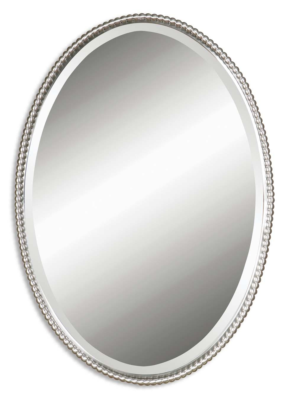 Mirrors - Oval Sherise Oval Mirror by Uttermost at Mueller Furniture