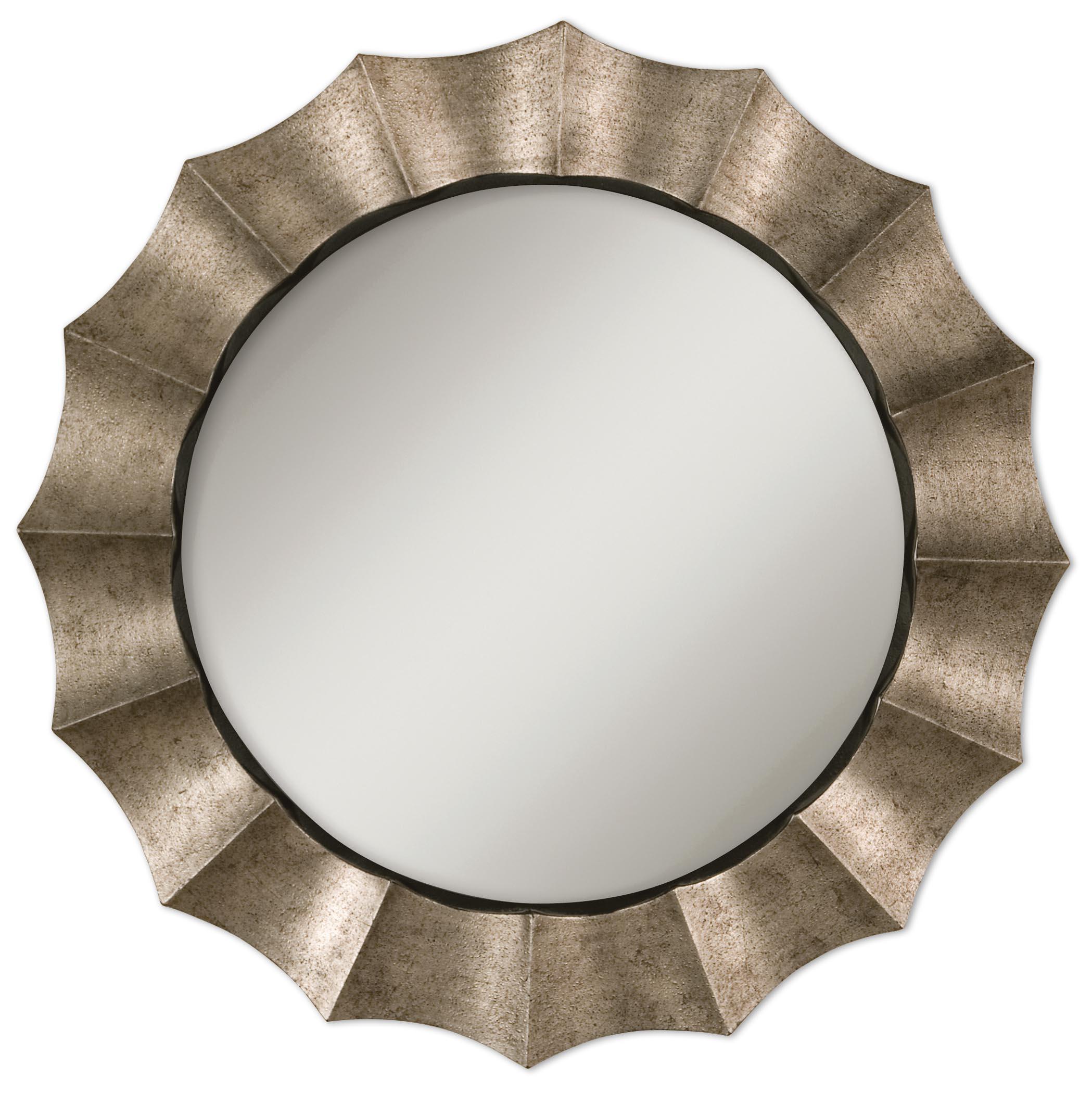 Mirrors - Round Gotham U Mirror by Uttermost at Mueller Furniture
