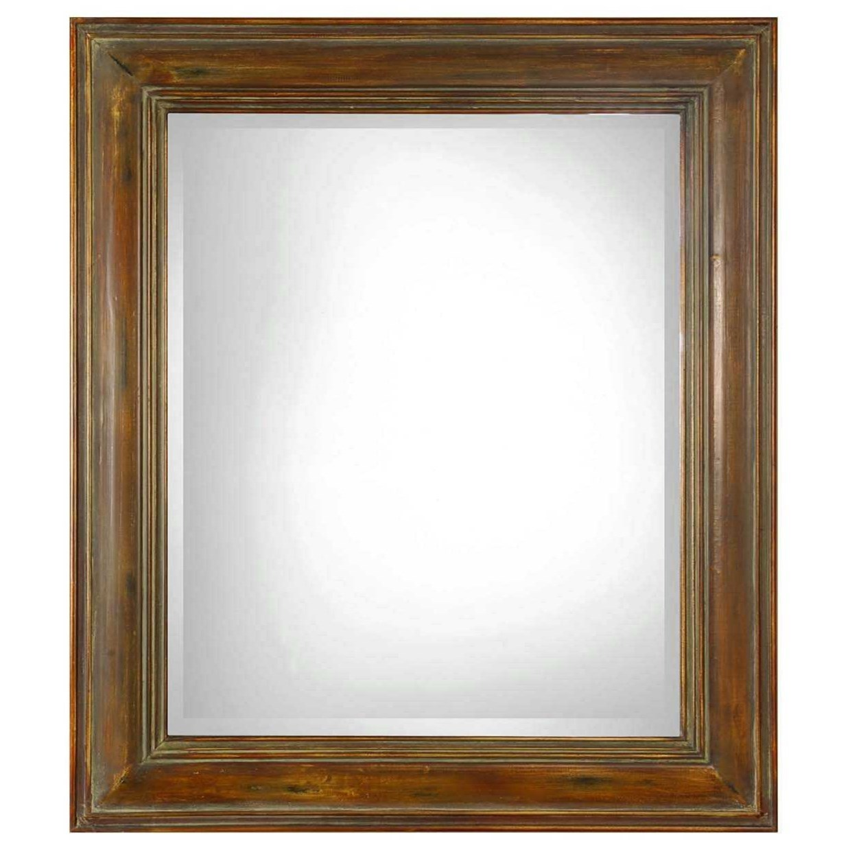 Mirrors Darian Dark Brown Mirror by Uttermost at Upper Room Home Furnishings