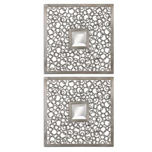 Uttermost Mirrors Colusa Squares Set of 2