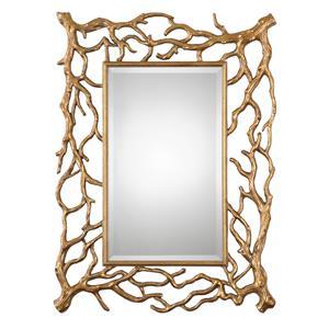 Uttermost Mirrors Sequoia Gold Tree Branch Mirror