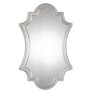 Elara Antiqued Silver Wall Mirror