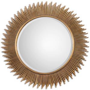 Uttermost Mirrors Marlo Round Gold Mirror