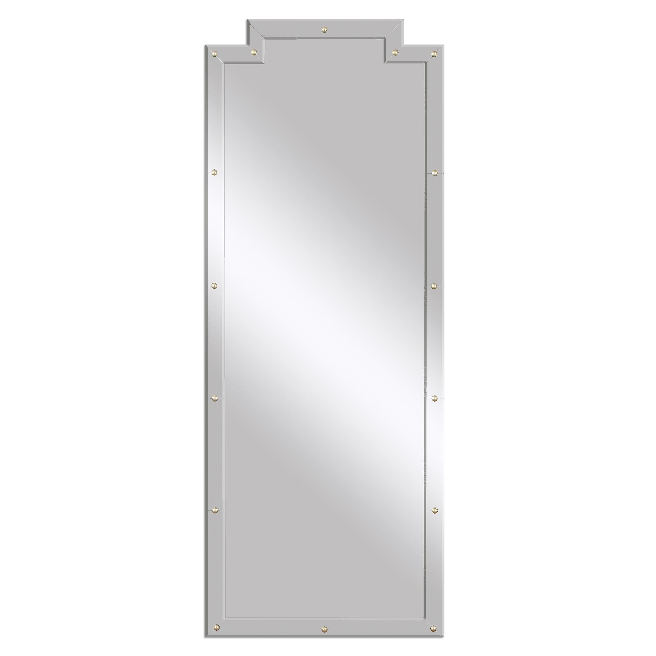 Mirrors Vedea Leaner Mirror by Uttermost at Wayside Furniture