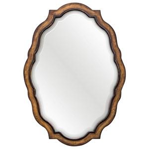 Talicia Aged Wood Mirror