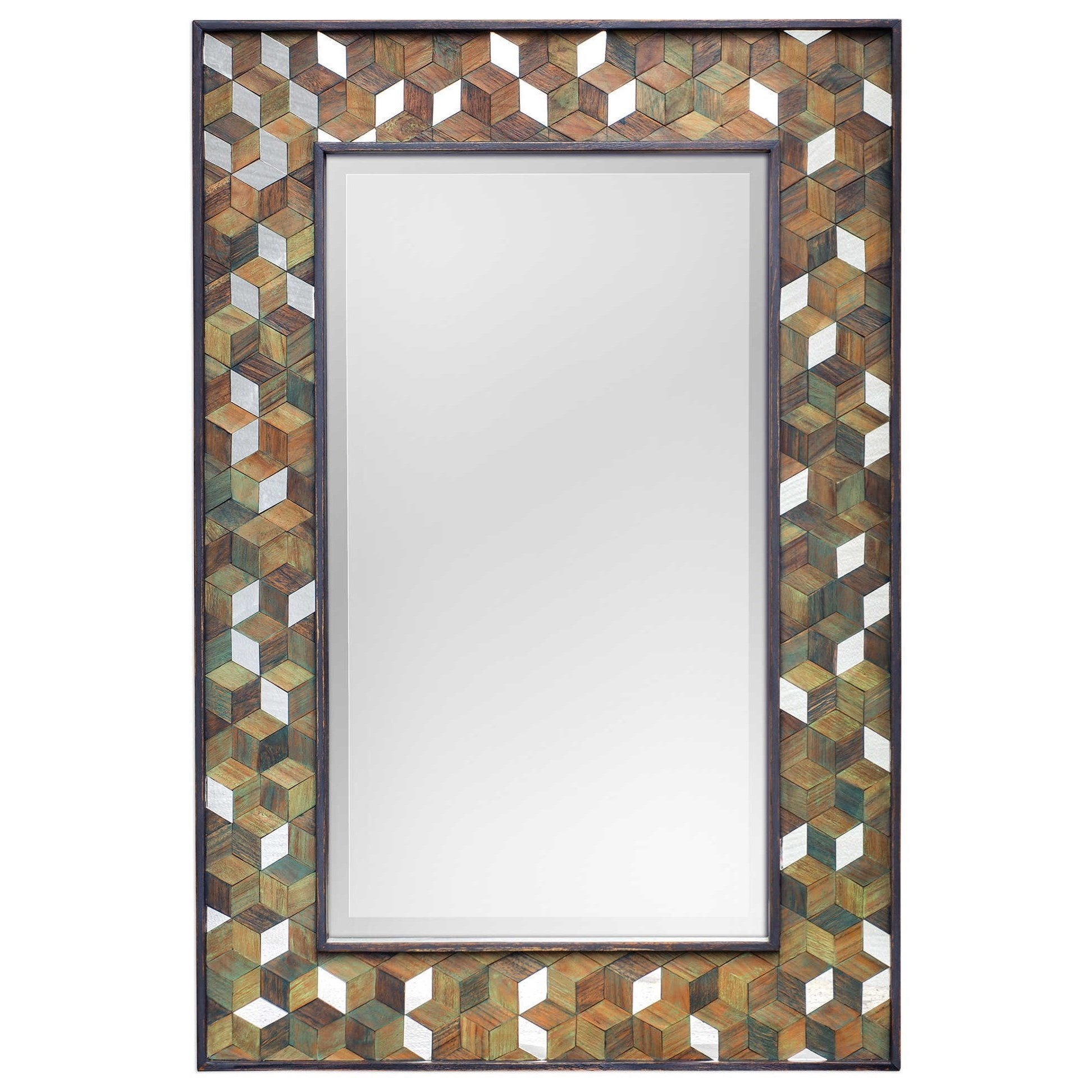 Mirrors Cadia Wooden Mirror by Uttermost at Wayside Furniture