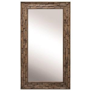 Damon Mosaic Wood Mirror