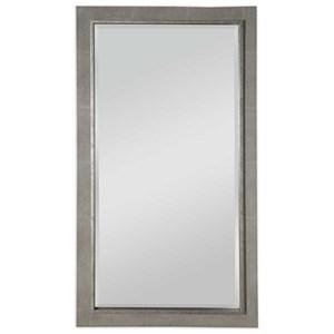 Zigrino Oversized Gray Mirror