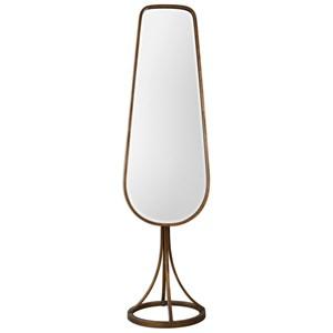 Gavar Gold Cheval Mirror