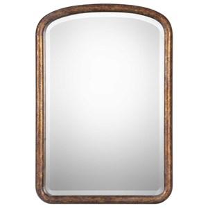 Vena Gold Arch Mirror