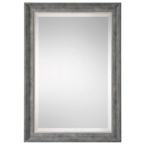 Skylar Wall Mirror with Aged Silver Finish