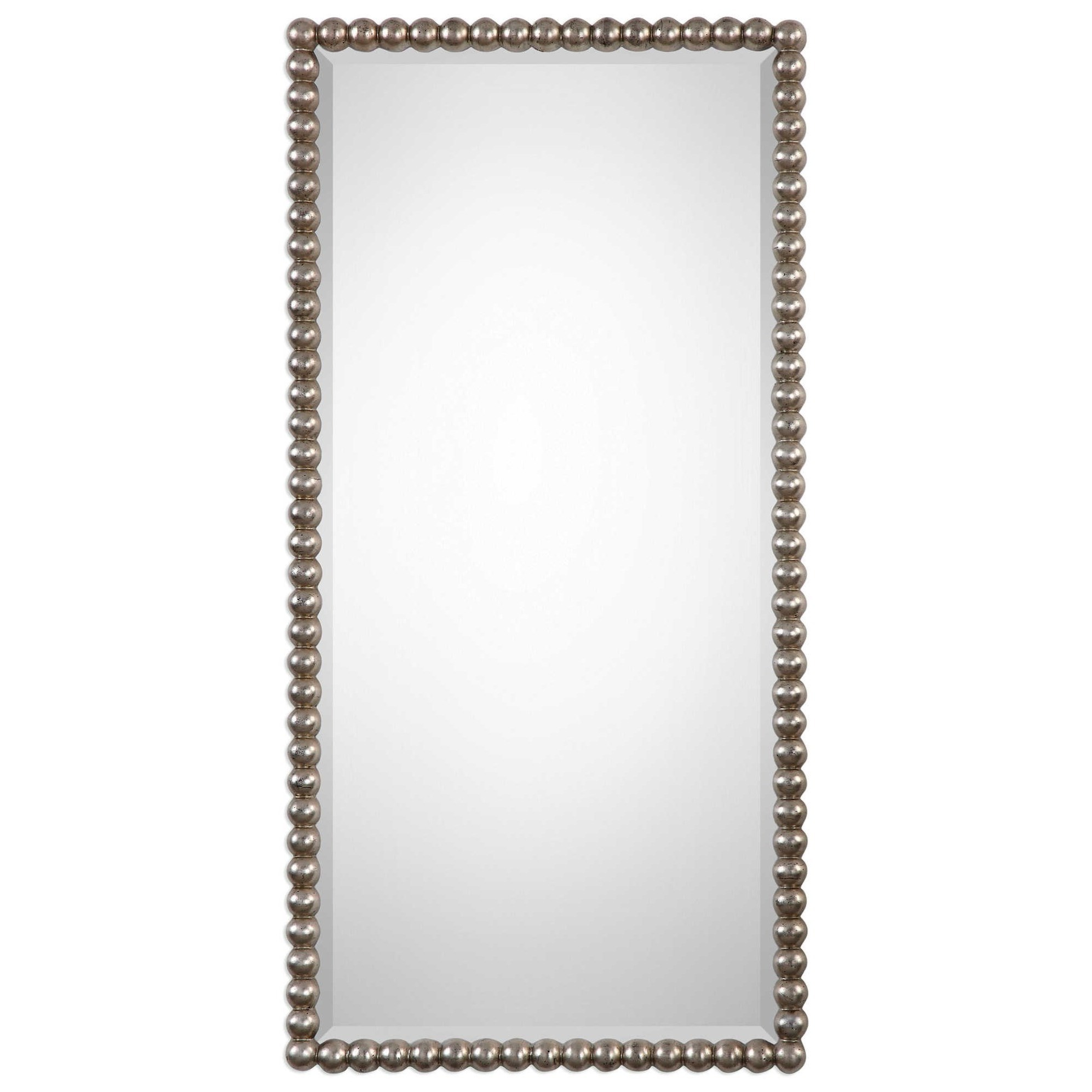 Mirrors Serna Antiqued Silver Mirror by Uttermost at Wayside Furniture