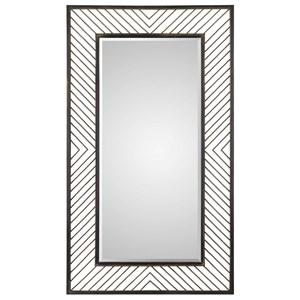 Karel Chevron Mirror