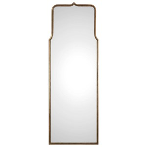 Adelasia Antiqued Gold Mirror