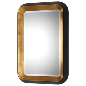 Niva Metallic Gold Wall Mirror