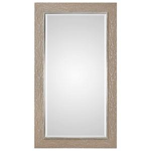Sahel Textured Pine Mirror