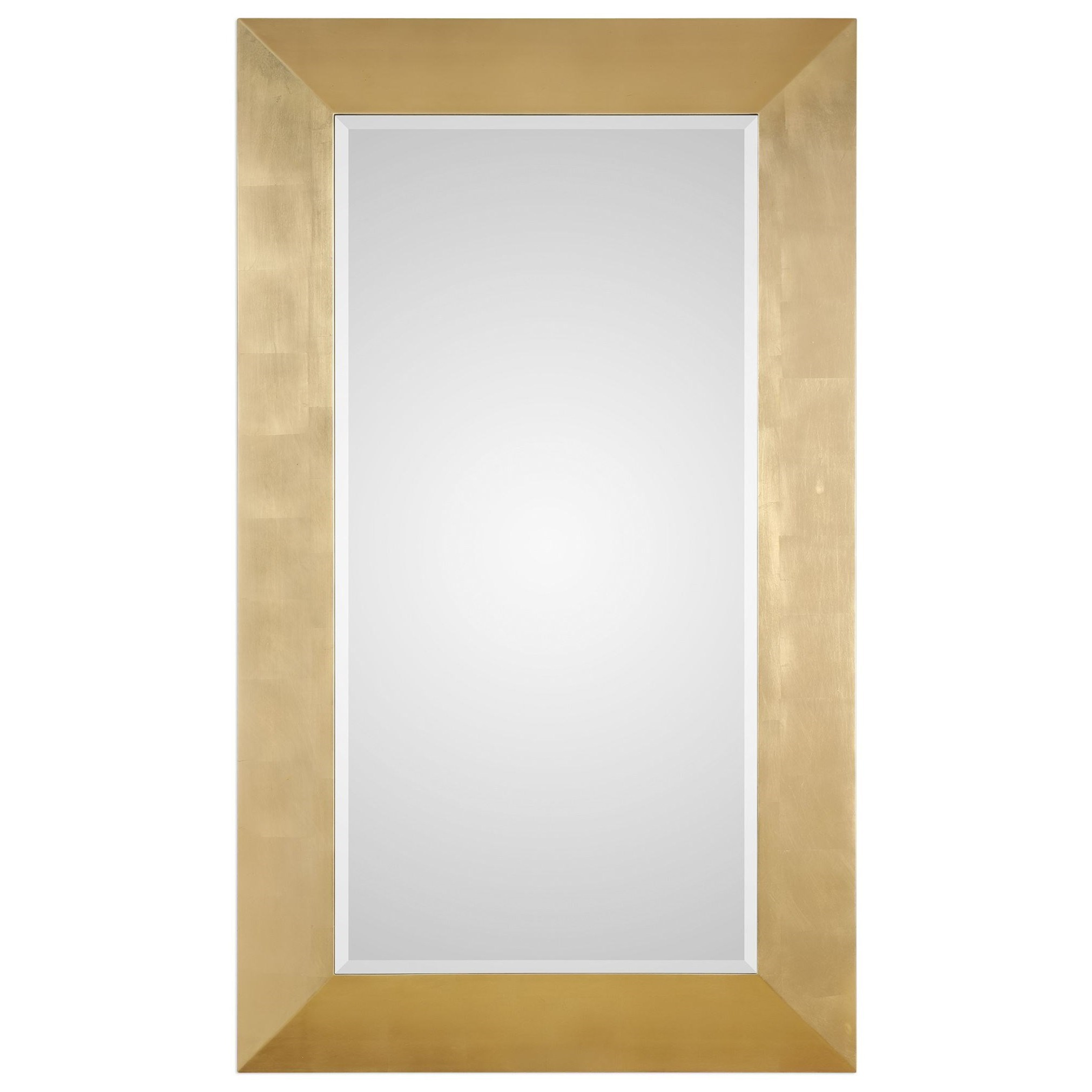 Mirrors Chaney Gold Mirror by Uttermost at Miller Waldrop Furniture and Decor