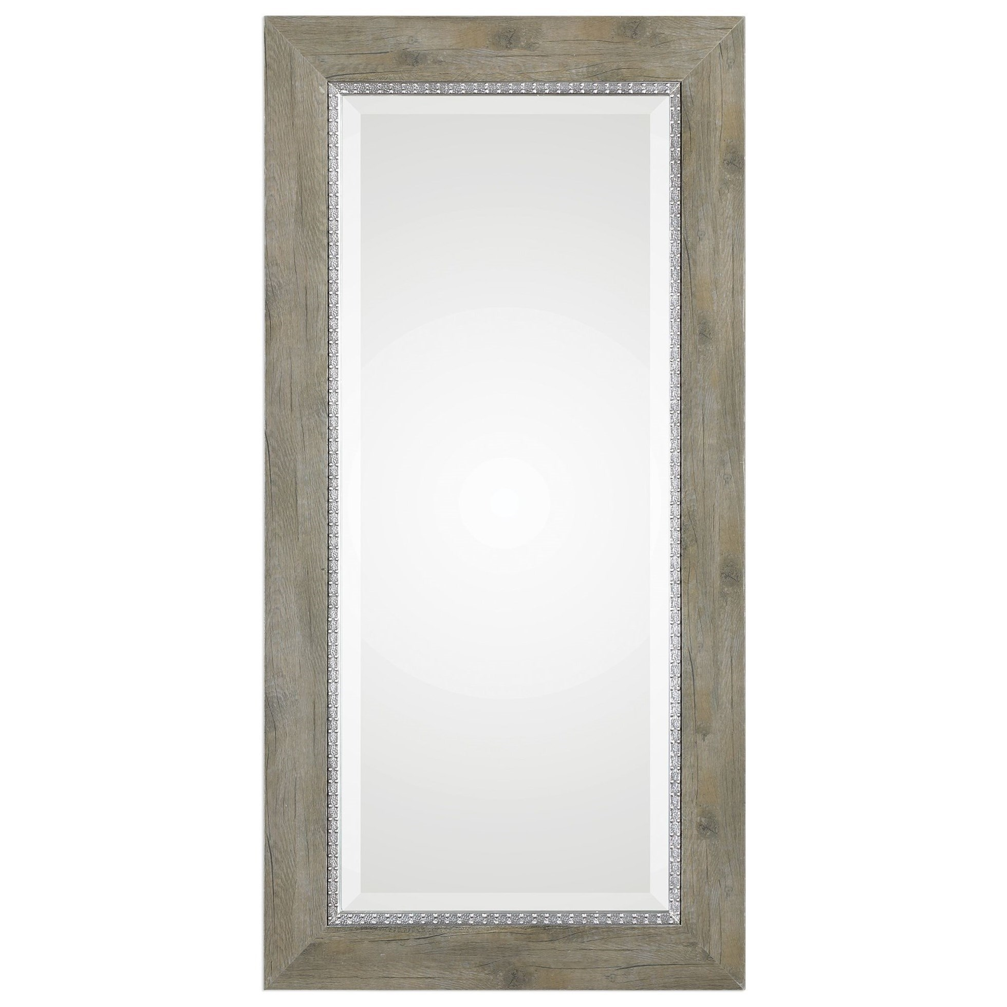 Mirrors Sheyenne Rustic Wood Mirror by Uttermost at Wayside Furniture