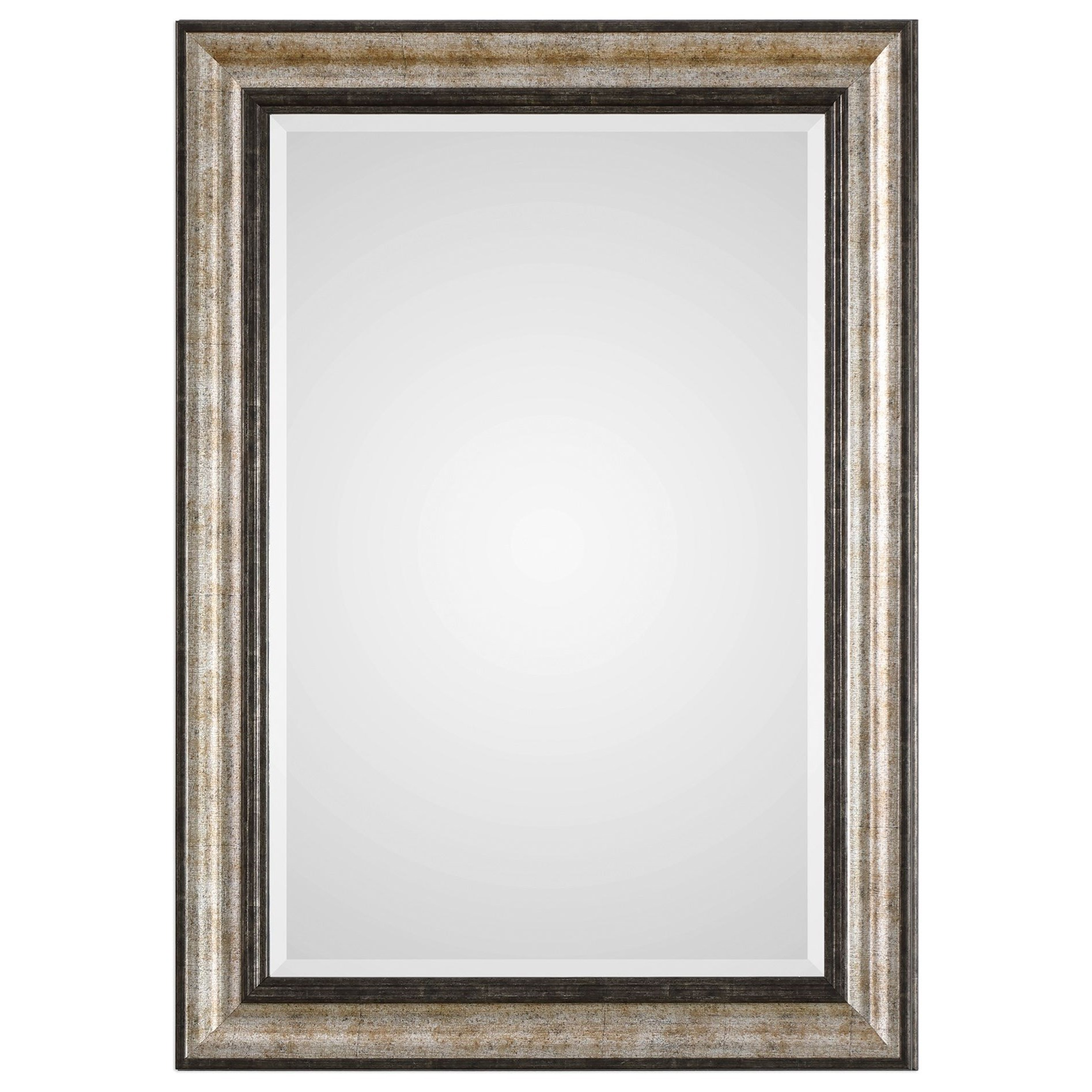 Mirrors Shefford Antiqued Silver Mirror by Uttermost at Wayside Furniture