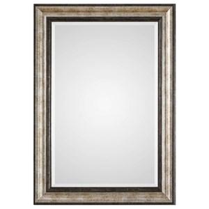 Shefford Antiqued Silver Mirror