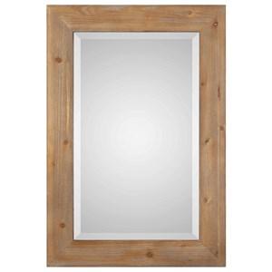 Bullock Solid Natural Wood Mirror