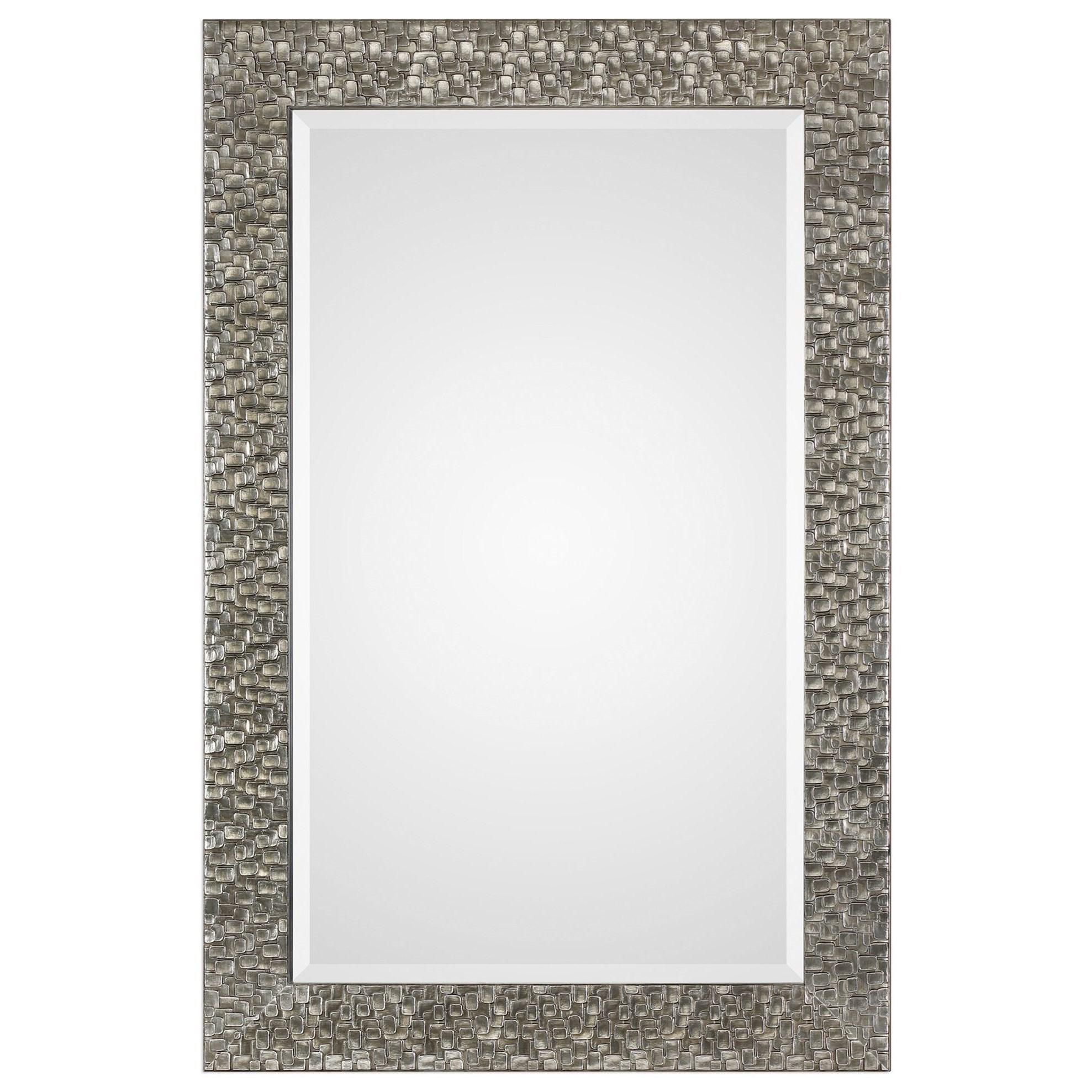 Mirrors Kanuti Metallic Gray Mirror by Uttermost at Wayside Furniture