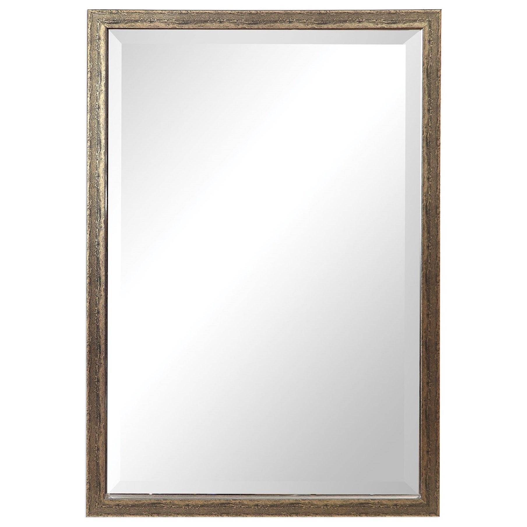 Mirrors Aburay Tarnished Silver Mirror by Uttermost at Pedigo Furniture