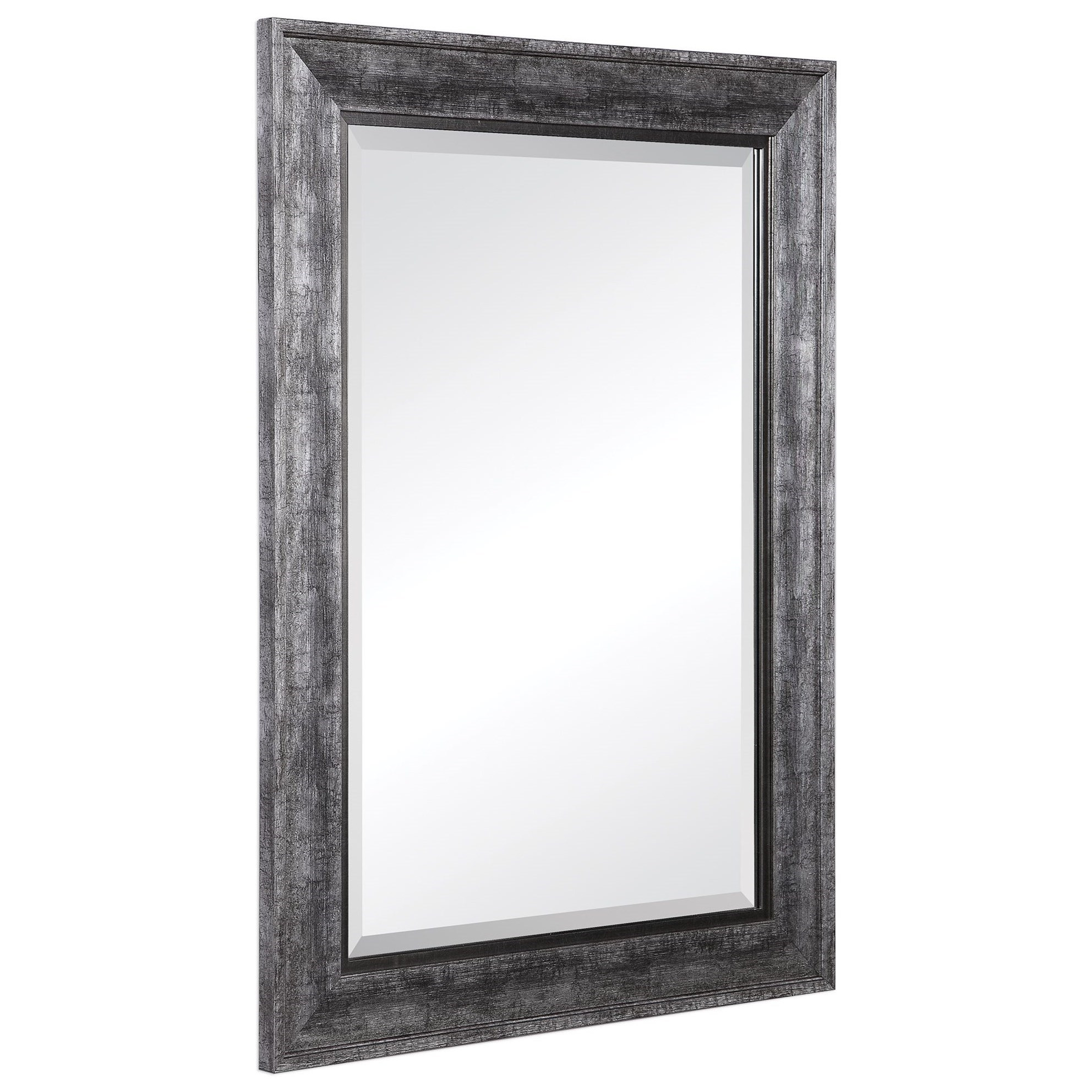 Mirrors Affton Burnished Silver Mirror by Uttermost at Mueller Furniture