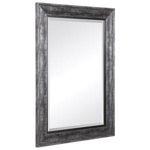 Affton Burnished Silver Mirror