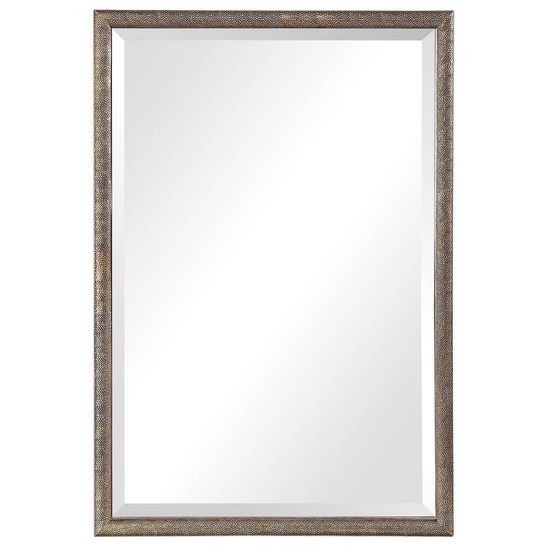 Mirrors Barree Antiqued Champagne Mirror by Uttermost at Pedigo Furniture