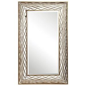 Galtero Rectangle Gold Mirror