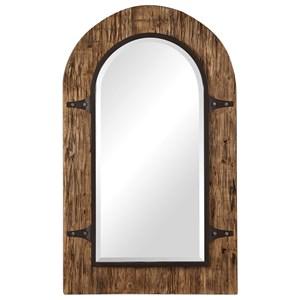 Cassidy Wooden Arch Mirror