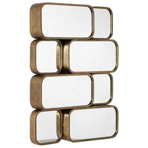 Canute Modern Gold Mirror