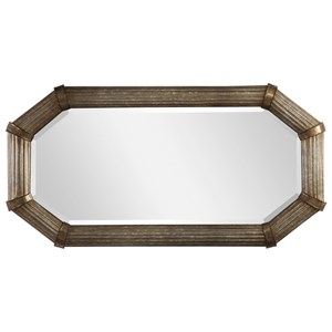 Gavin Galvanized Metal Mirror